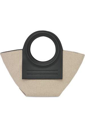 Hereu Cala Mini Canvas Top Handle Bag