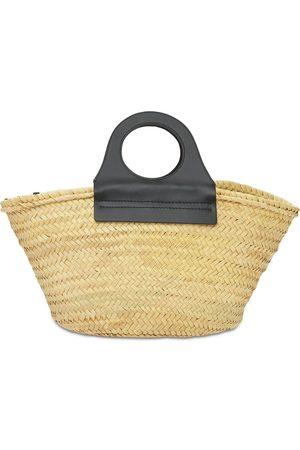 Hereu Kvinna Väskor - Cabas Handwoven Straw Basket Bag