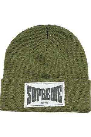 Supreme Woven Label beanie