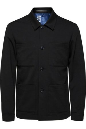 SELECTED Man Långärmade skjortor - Slhreg-Jim Flex Hybrid BLZ G Noos Shirt