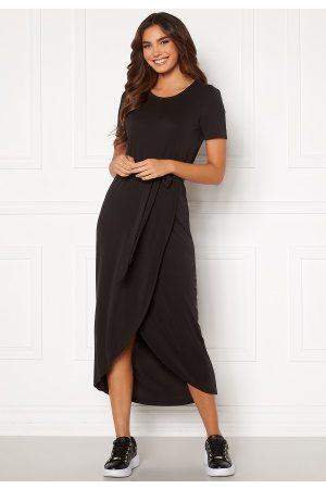 Object Kvinna Midiklänningar - Annie Nadia S/S Dress Black XL