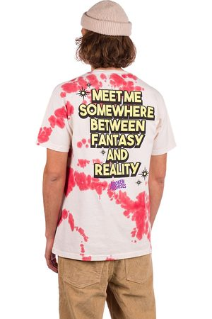 Broken Promises Man Kortärmade - Fantasy & Reality T-Shirt white