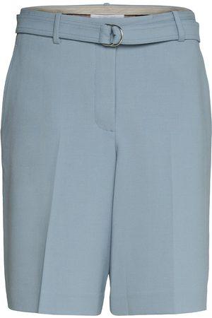 Helmut Lang Kvinna Shorts - Suit Short.Stretch W Shorts Chino Shorts Blå