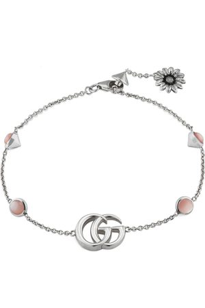 Gucci Double G bracelet with flower