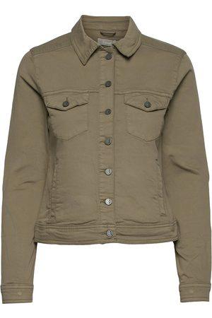 FRANSA Kvinna Jeansjackor - Frvotwill 1 Jacket Jeansjacka Denimjacka Vit