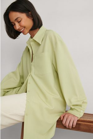 NA-KD Oversize Skjorta