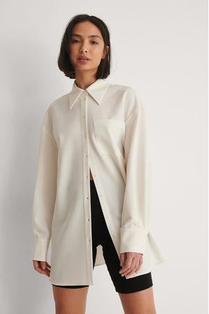 NA-KD Kvinna Casual skjortor - Oversize Skjorta