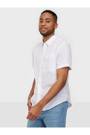 Tiger of Sweden Man Kortärmade skjortor - Didon Skjorta Pure White
