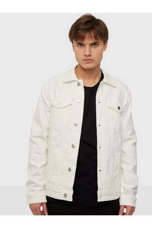 SELECTED Slhjeppe 4040 White St Denim Jacket Jackor White Denim
