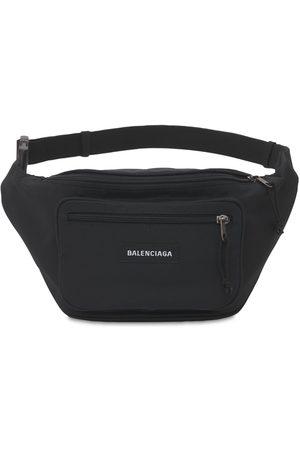 Balenciaga Logo Nylon Belt Bag