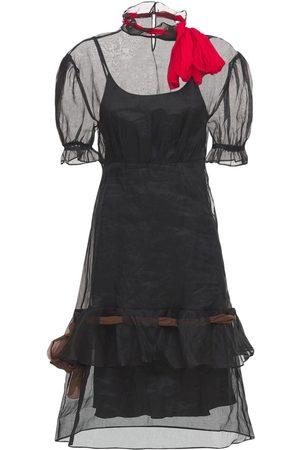 Miu Miu Organza Midi Dress