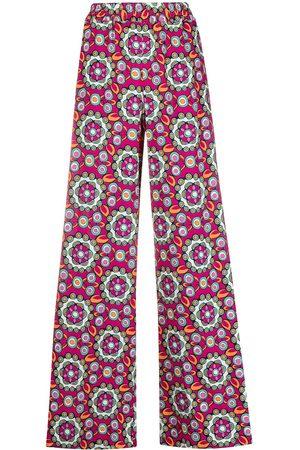 La DoubleJ Kvinna Mönstrade kjolar - Sardegna A-linjekjol med geometriskt tryck