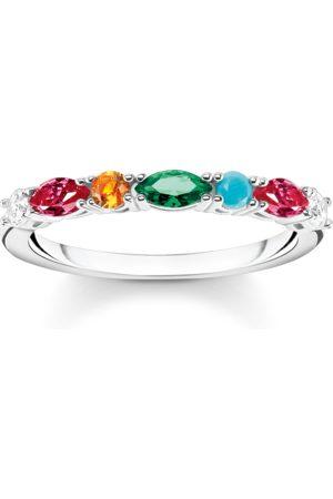 Thomas Sabo Kvinna Ringar - Ring stenar i färg silver