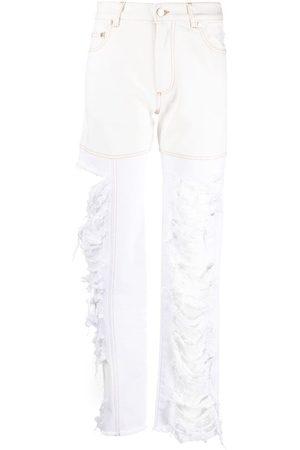 Peter Do Kvinna High waist - Combo raka jeans med hög midja
