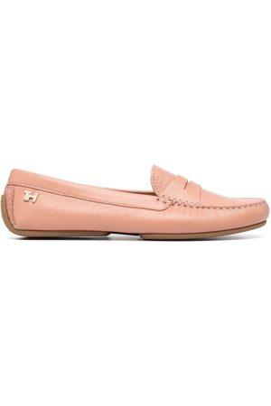Tommy Hilfiger Kvinna Loafers - Mockasiner i läder