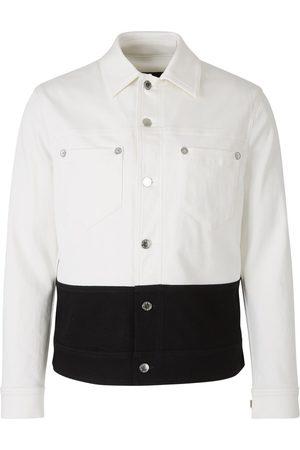 Neil Barrett Man Jeansjackor - Two-tone denim jacket