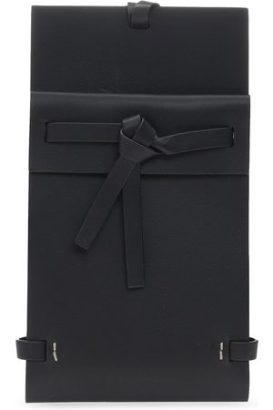 Jil Sander Logo pouch with strap