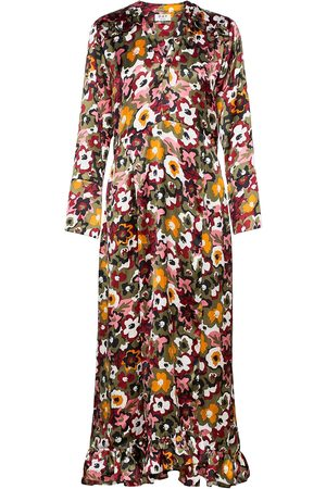 DAY Birger et Mikkelsen Kvinna Festklänningar - Day Dove Maxiklänning Festklänning Multi/mönstrad