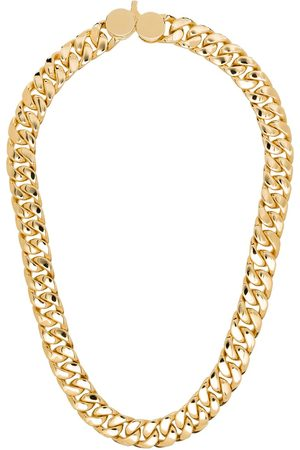TOM WOOD 9kt gold-plated chain-link necklace