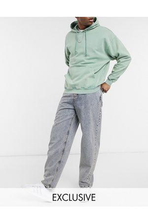 Reclaimed Vintage Inspired – Vintageinspirerade baggy jeans i 90-talsstil med antiktvättad finish