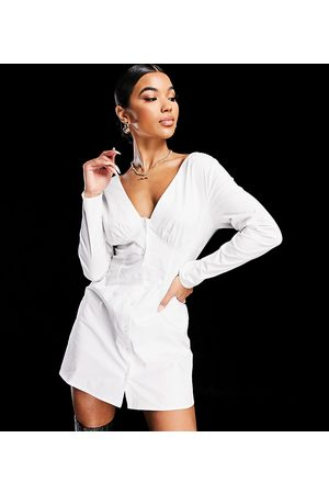 AsYou – off shoulder-klänning med knäppning