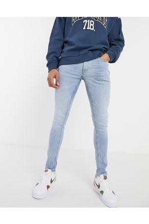 Jack & Jones Intelligence – Liam – Ljusblå skinny jeans