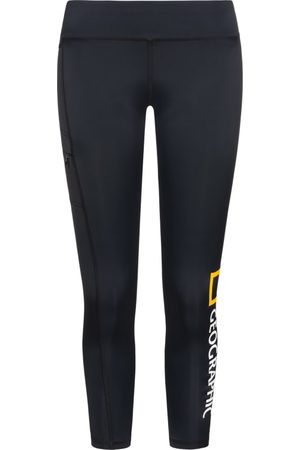 NATIONAL GEOGRAPHIC Women's Tights Big Logo