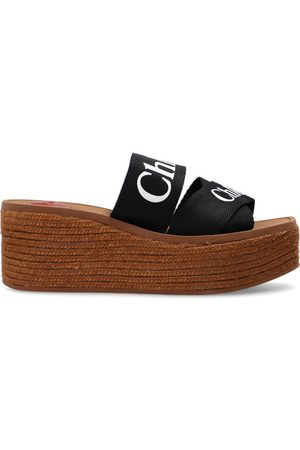 Chloé Wedge slides