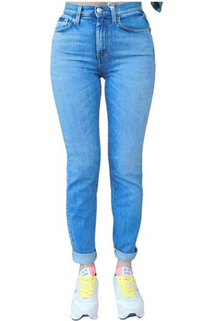 ROŸ ROGER'S Jeans super strech vita alta