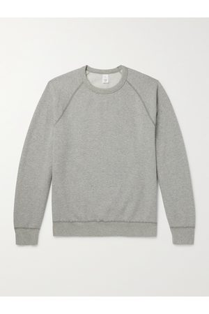 Save Khaki United Heather Fleece-Back Supima Cotton-Jersey Sweatshirt