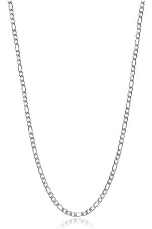 Nialaya Silver Figaro Chain Choker