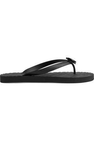 Gucci Men's chevron thong sandal