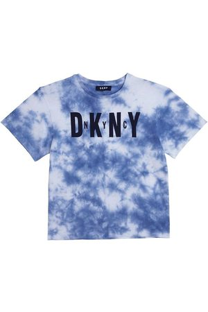 DKNY T-shirt - Sommar Junior - Blå/ Tie Dye m. Logo