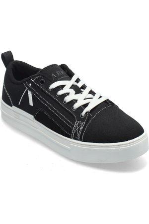 Arkk Copenhagen Sommr Canvas Pet R-H20 Black White Låga Sneakers