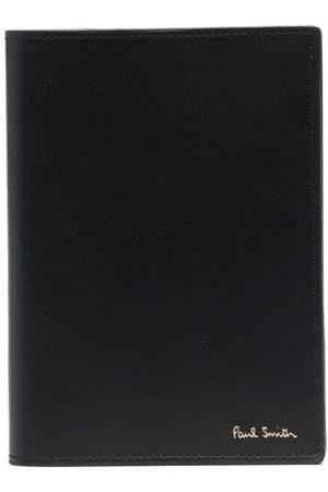 Paul Smith Man Plånböcker - Artist stripe-print leather cardholder