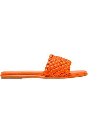 Michael Kors Amelia Braided Slide Sandals