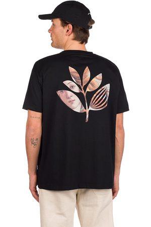 Magenta Man Kortärmade - Botticelli Plant T-Shirt black