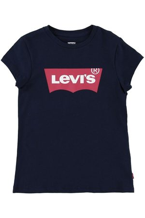 Levi's Flicka T-shirts - T-shirt - Batwing - Marinblå m. Logo