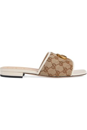 Gucci Women's slide sandal with Double G