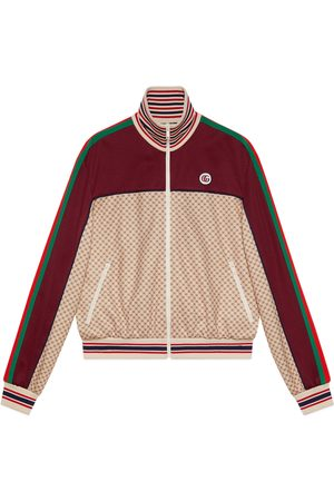 Gucci Interlocking G print jersey jacket