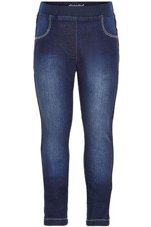 Minymo Byxor - Stretch Slim Fit - Mörkblå