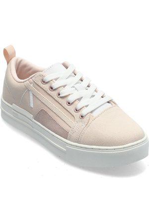 Arkk Copenhagen Kvinna Sneakers - Sommr Canvas Pet R-H20 Soft Pink Wh Låga Sneakers