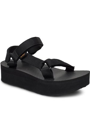Teva Kvinna Sandaler - W Flatform Universal Shoes Summer Shoes Flat Sandals