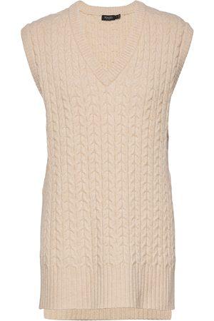 Soaked in Luxury Kvinna Västar - Slfaraday Vest Vests Knitted Vests Rosa