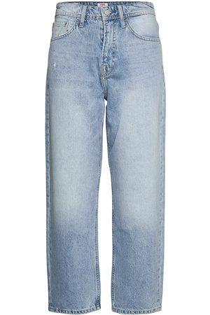 Pepe Jeans Kvinna Straight - Dover Raka Jeans Blå