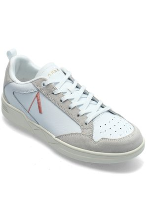 Arkk Copenhagen Visuklass Leather Suede S-C18 White Låga Sneakers