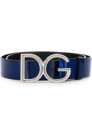 Dolce & Gabbana Man Bälten - Skärp med logotypspänne