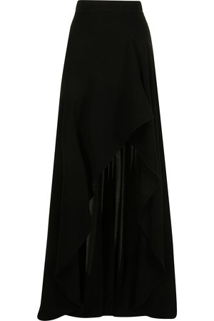 Elie saab Front-slit high-waisted skirt