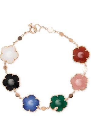 Pasquale Bruni 18kt rose gold Ton Joli diamond and gemstone bracelet