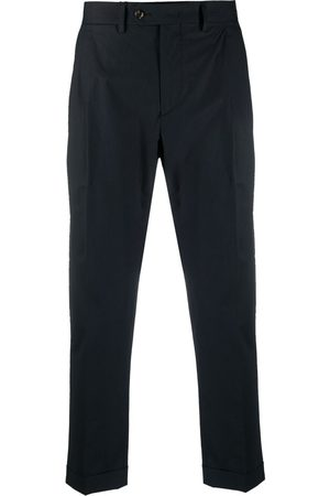 DELL'OGLIO Cropped tailored trousers